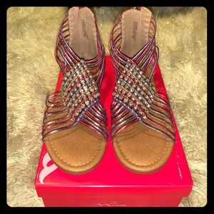 Nina Karlee Pink Gladiator Sandal Girls Size 3